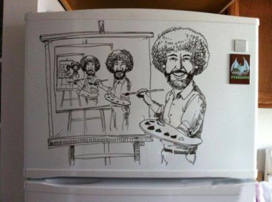 The Incredible Refrigerator Art