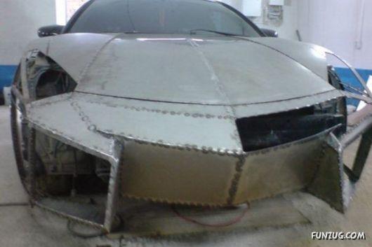 Transform Your Old Car To A Lambhorgini
