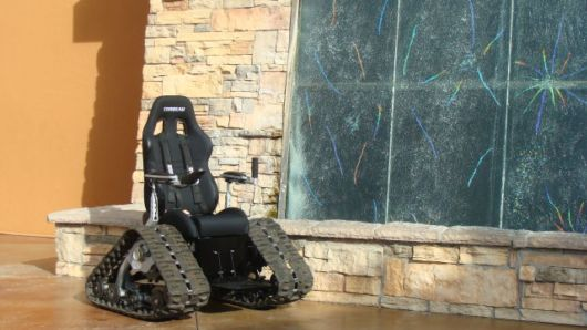 Amazing Off-Road Tank Wheelchair