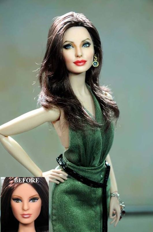 These Painted Celebrity Dolls Aren't The Real Thing