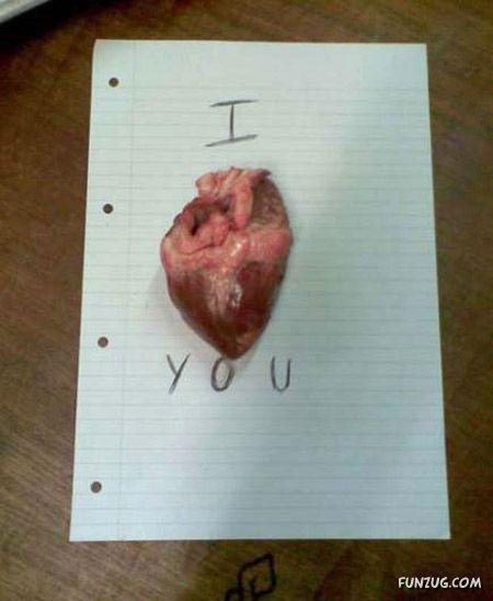 Creepy Ways To Say I Love You