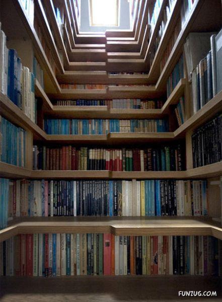 Unique and Creative Bookshelves