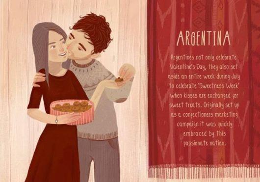 How World Celebrates Valentines Day