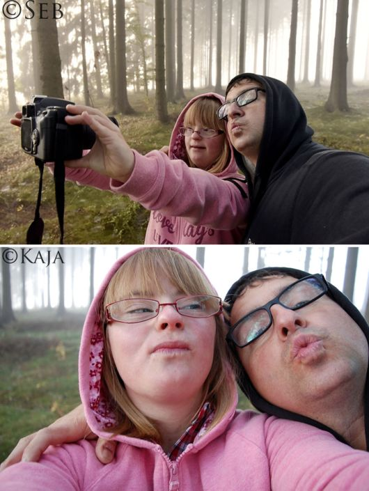 A Daughter With Down Syndrome Taught Photography To Her Father