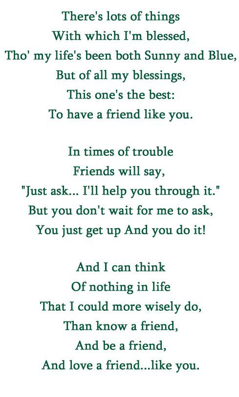 Best Friend Like You Quotes