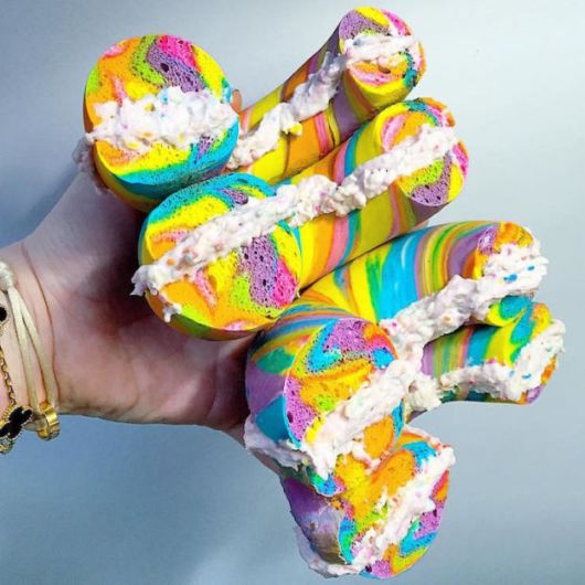 The Worlds Most Colourful Bagels Ever