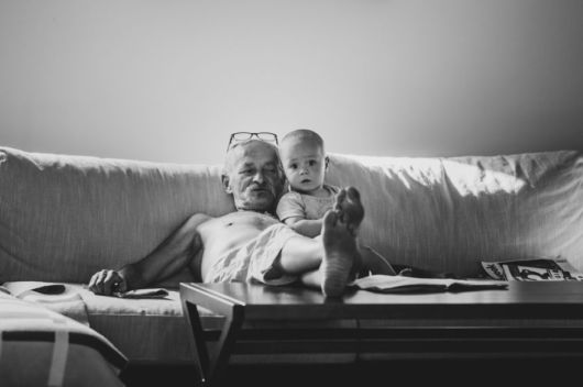 A Perfect Granddad And Their Little Monsters
