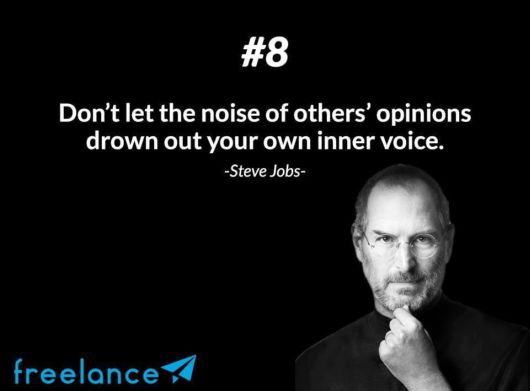 12 Rules of Success By Steve Jobs