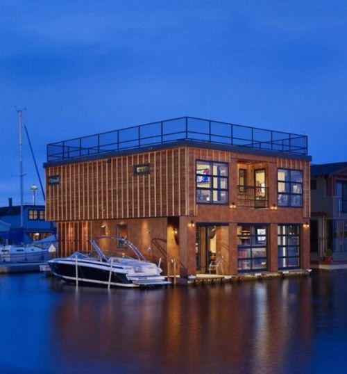 Lake Union Float Home