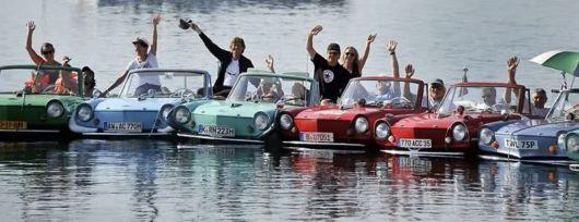 Amphibious Car Meet in Switzerland