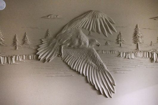 Talented Artist Uses Drywall To Create Extraordinary Sculptures