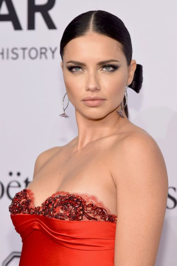Adriana Lima At 2016 amfAR New York Gala