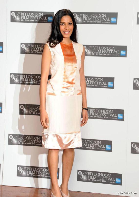 Freida Pinto At The London Film Festival
