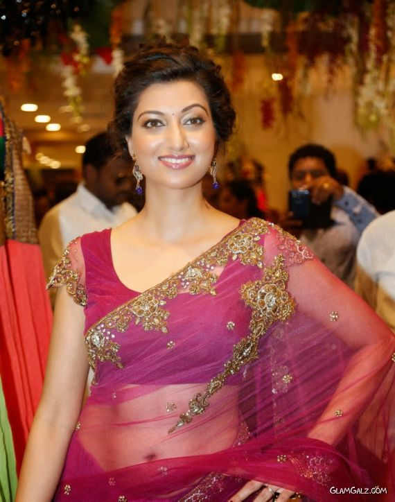 Gorgeous Hamsa Nandini At Kalamandir Showroom Launch