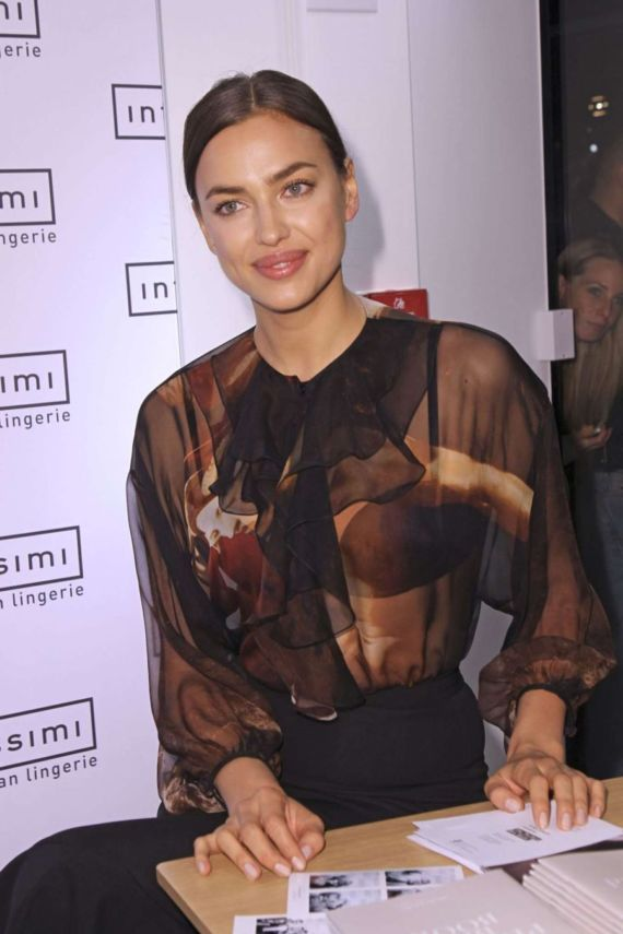 Irina Shayk Promoted The Perfect B Book In Munich