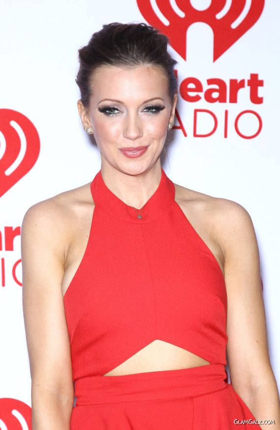 Katie Cassidy At IHeartRadio Music Festival
