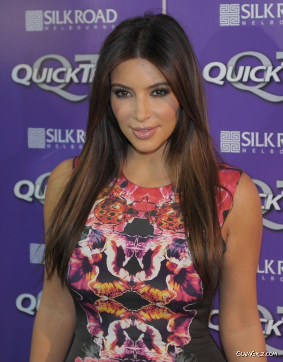 Miss Kardashian For Quick Trim VIP Event