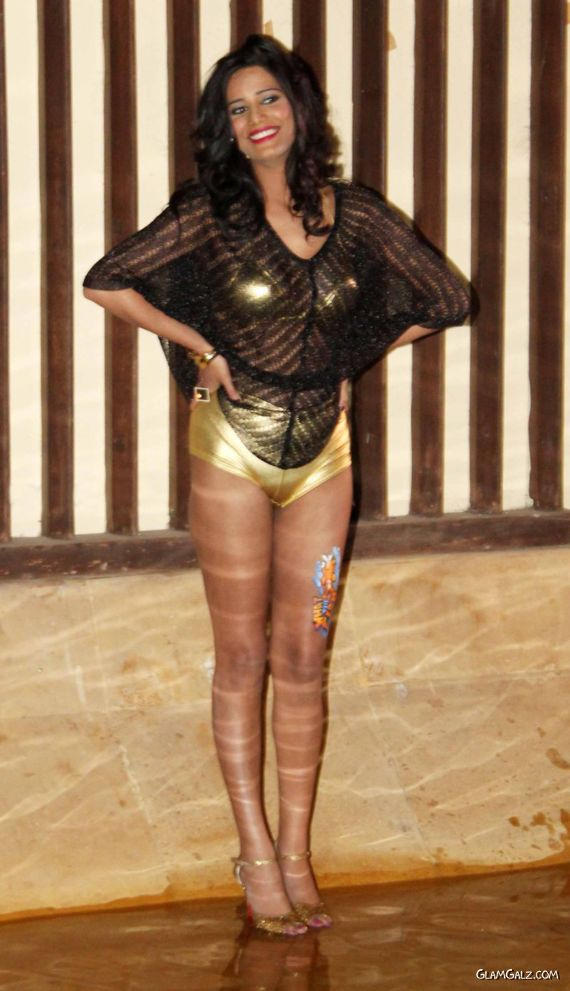 Poonam Pandey At What The Fish Movie Promotion Event