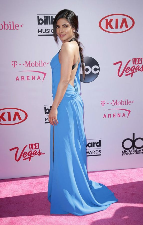 Priyanka Chopra in Versace Gown At Billboard Awards
