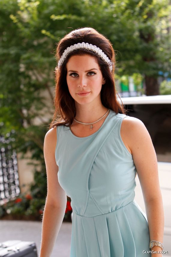Beautiful Lana Del Rey Street Candids