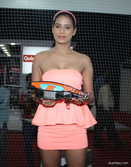 Poonam Pandey Launches Parrot A R Drone 2