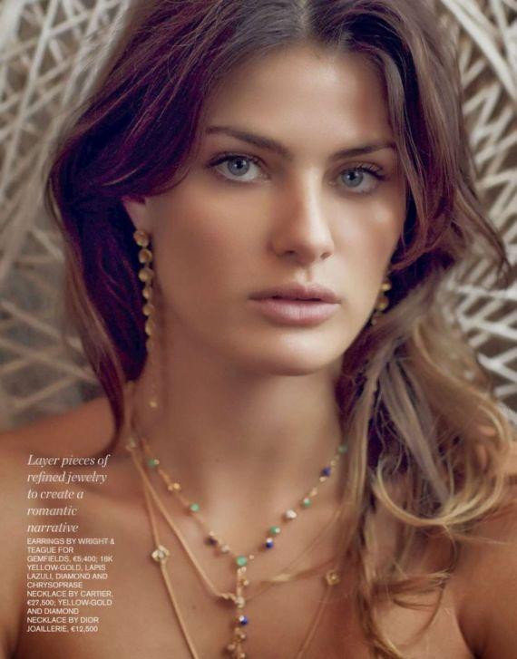 Isabeli Fontana Porter Magazine Summer 2014