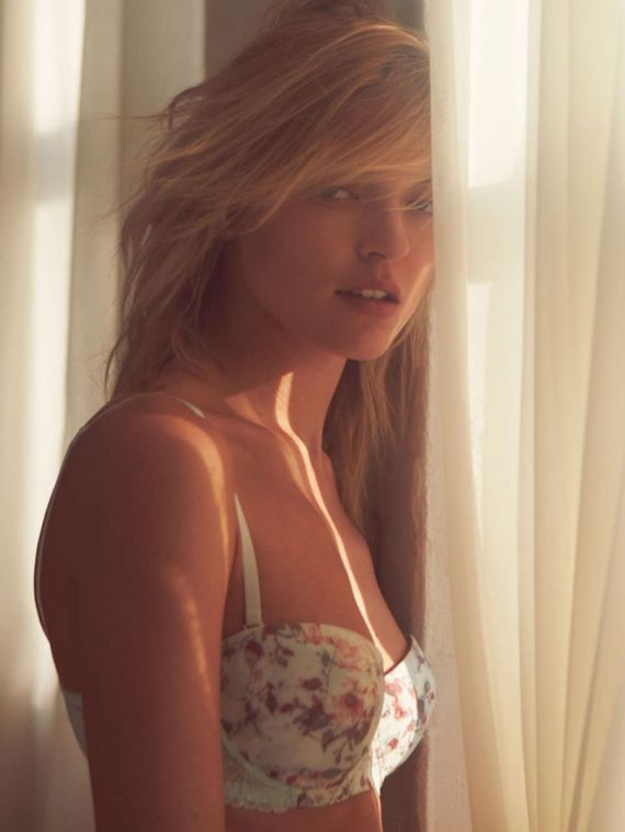 Martha Hunt For Free People 2014 Photoshoot