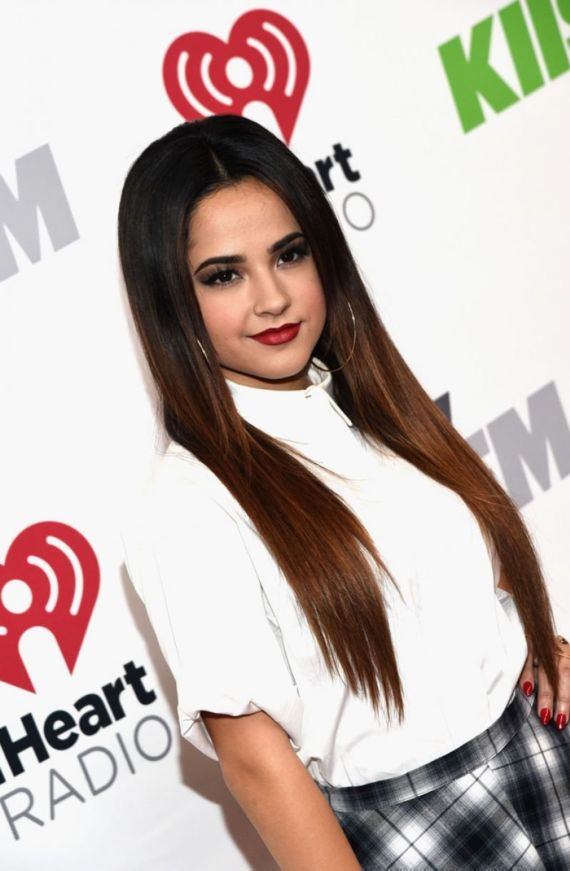 Becky G Performs At KIIS FM's Jingle Ball 2014 In LA