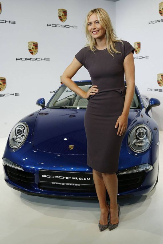 Maria Sharapova Endorses Porsche