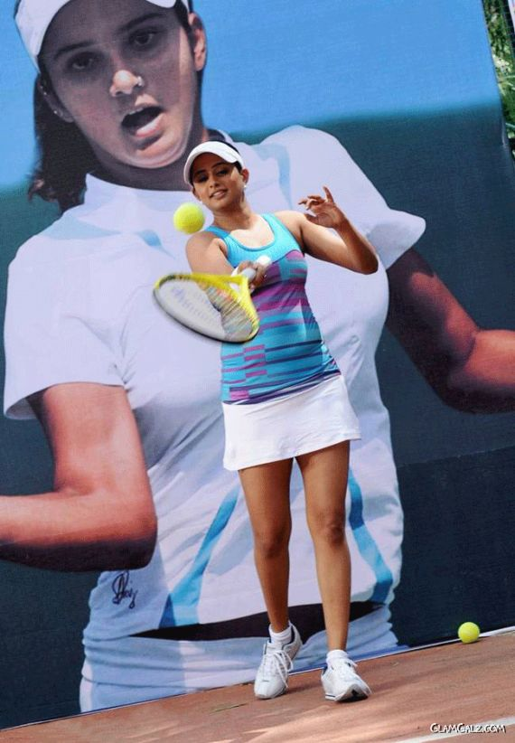 Beautiful Priyamani In The Tennis Outfit