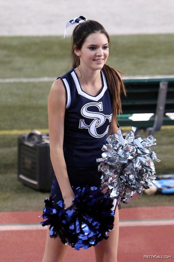 Kendall Jenner As A Cheerleader