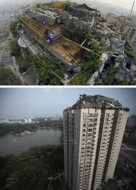 Amazing Constructions Built On Rooftops