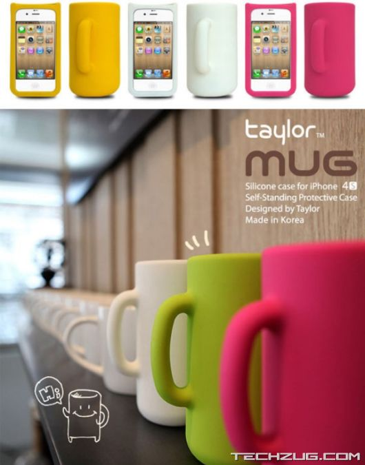 Cool Mug Shape iPhone 4S Case
