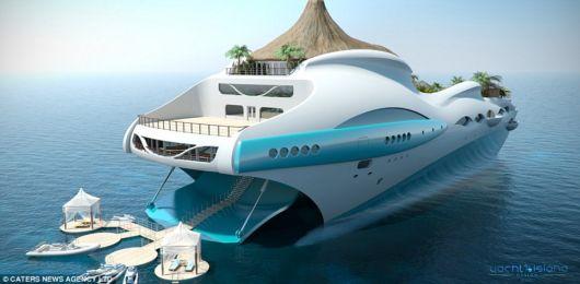 Tropical Island Paradise Yacht